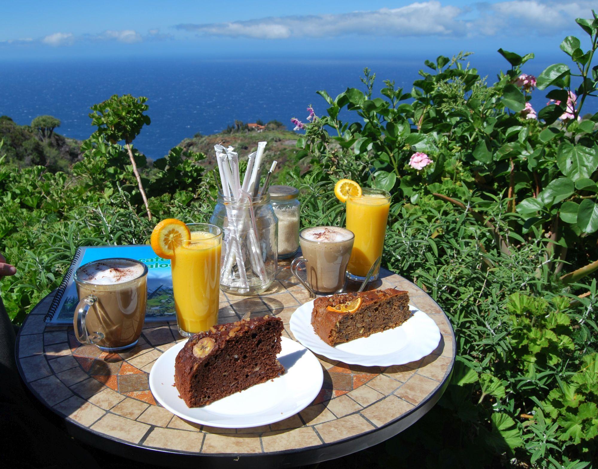 biologsche taart La Palma