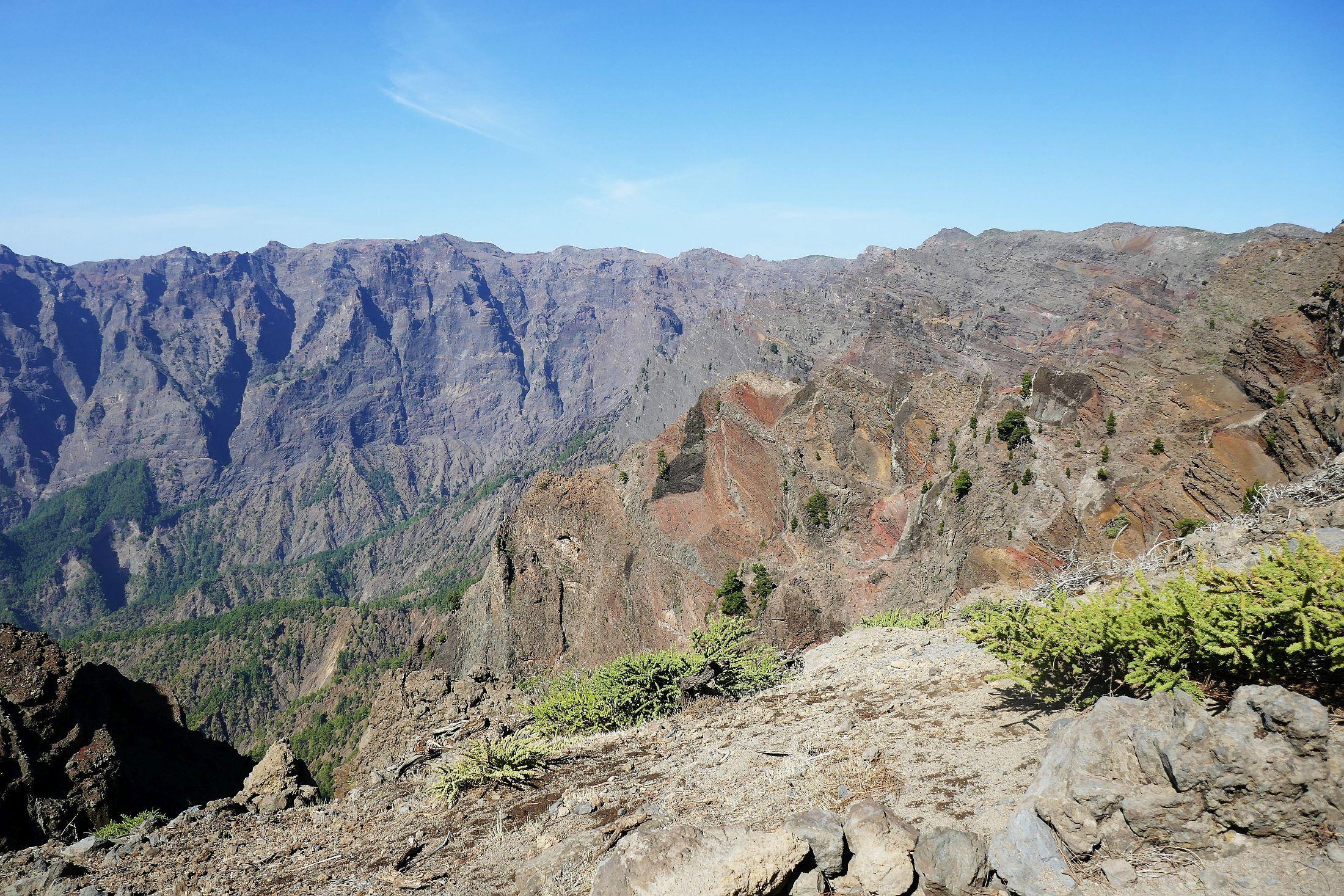 Gr-131 kraterrand La Palma