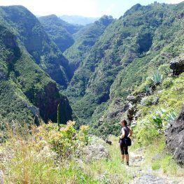 La Palma wandelen in het noorden