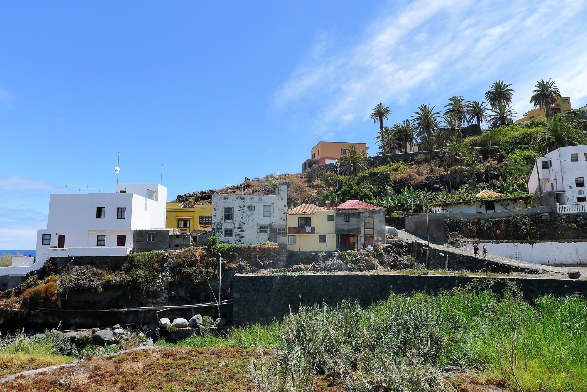 San Andres in het noordoosten van La Palma.