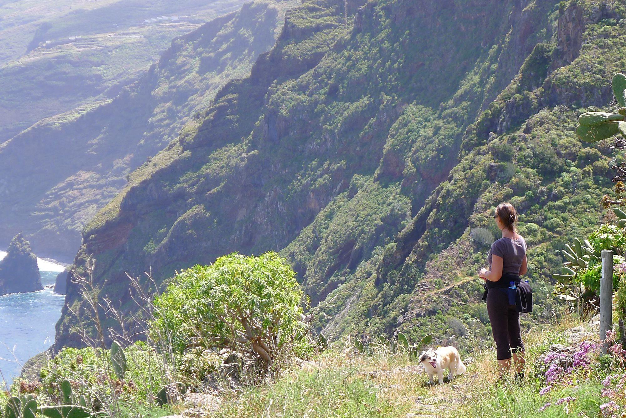 Van El Tablado naar het uitzichtpunt